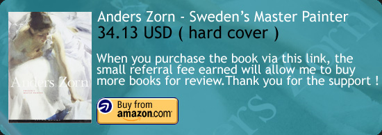 Anders Zorn - Sweden's Master Painter Art book Amazon Buy Link