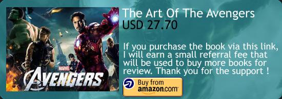 The Art Of Marvel's The Avengers Art Book Amazon Buy Link