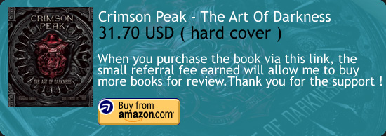 Crimson Peak - The Art Of Darkness Book Amazon Buy Link