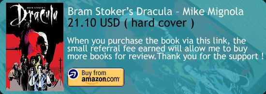 Bram Stoker's Dracula - Mike Mignola Graphic Novel Amazon Buy Link