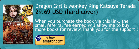 Dragon Girl And Monkey King Katsuya Terada Art Book Amazon Buy Link