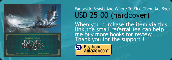 Fantastic Beasts And Where To Find Them - The Art Of The Film Art Book Amazon Buy Link