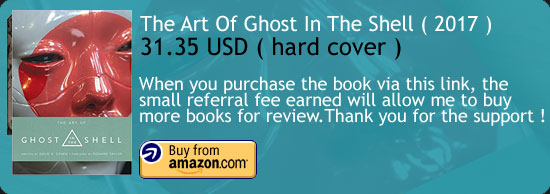 The Art Of Ghost In The Shell ( 2017 ) Book Amazon Buy Link