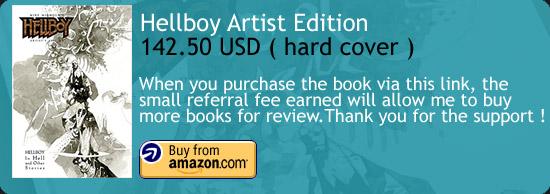 Hellboy Artist Edition - Mike Mignola Amazon Buy Link