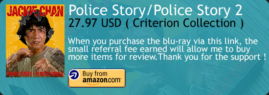 Police Story/Police Story 2 - The Criterion Collection Blu-ray Amazon Buy Link