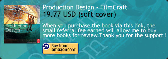 Production Design - FilmCraft Series Book Amazon Buy Link