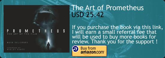 Prometheus - The Art Of The Film Book Amazon Buy Link