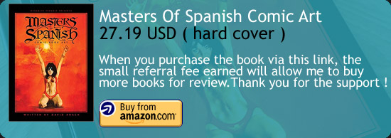 Masters Of Spanish Comic Book Art Book Amazon Buy Link