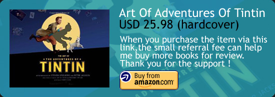 The Art Of The Adventures Of Tintin Book Amazon Buy Link