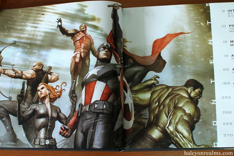The Art Of Marvel's The Avengers Art Book