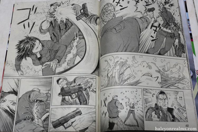 Batou Illustration Katusya Terada Young Magazine