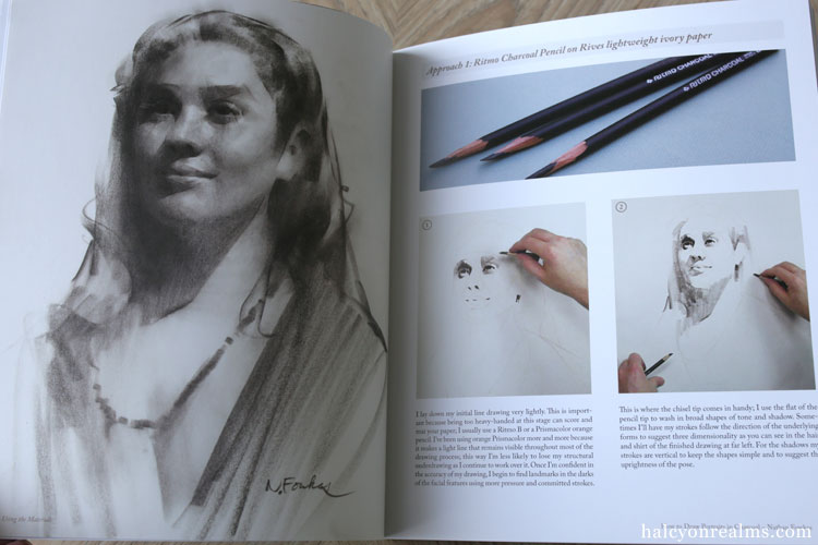 How To Draw Portraits In Charcoal - Nathan Fowkes Book Review
