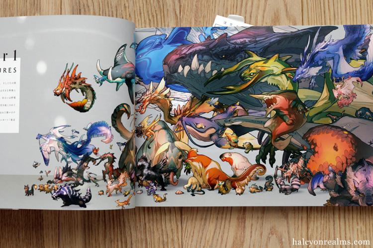 Creatures - Yamamura Le Art Book Review