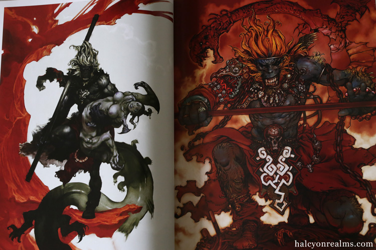 Dragon Girl And Monkey King Katsuya Terada Art Book