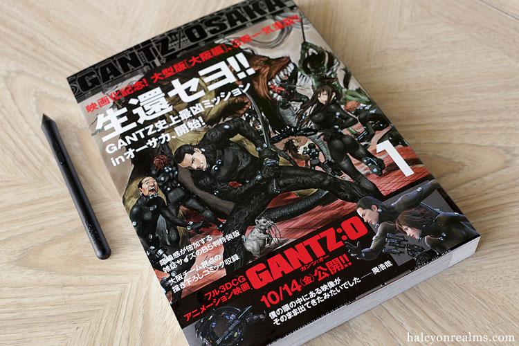 GANTZ/OSAKA - 3 Volume Manga Review