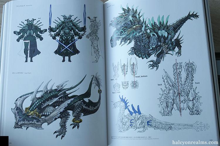 Final Fantasy XIV - Heavensward Art Book Review - Halcyon