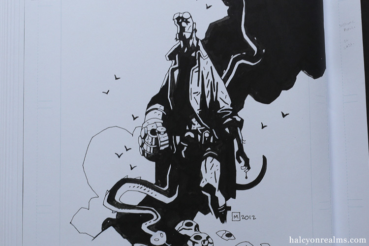 Hellboy Artist Edition - Mike Mignola Comic Review