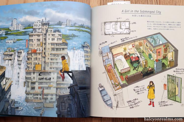 Houses With A Story - Yoshida Seiji Art Works Book Review ものがたりの家-吉田誠治 美術設定集 吉田誠治