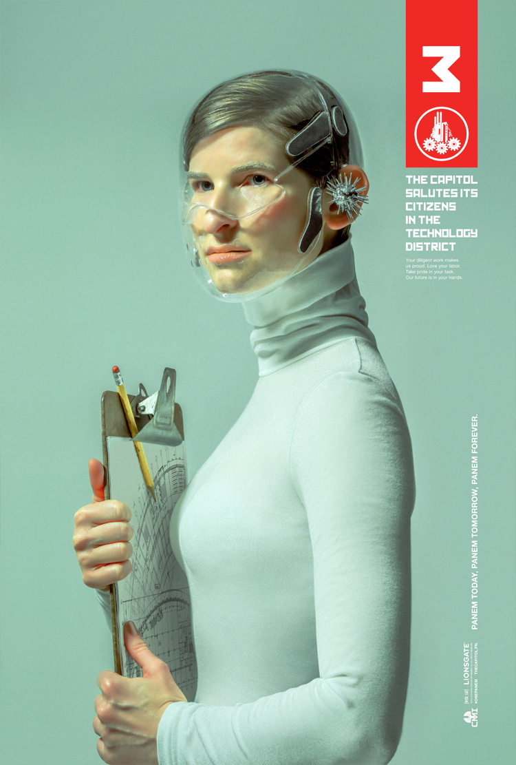 Hunger Games Posters To Rockwell/Leyendecker