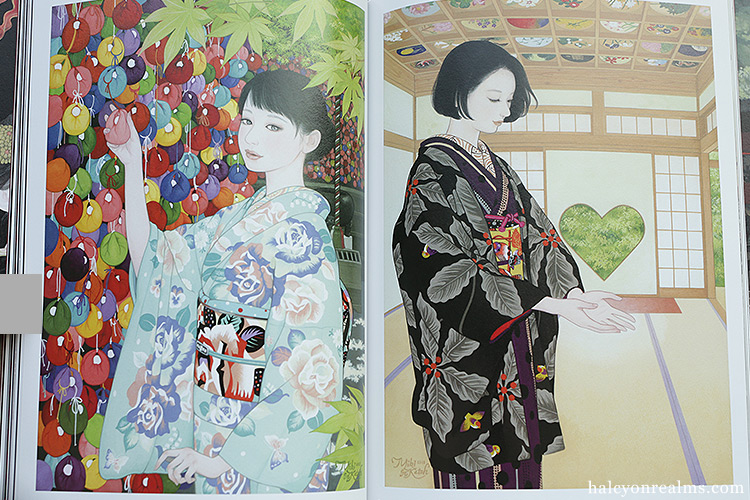 Hyakka Yoen - Katoh Miki Illustration Works Art Book Review 加藤美紀画集 百花妖炎