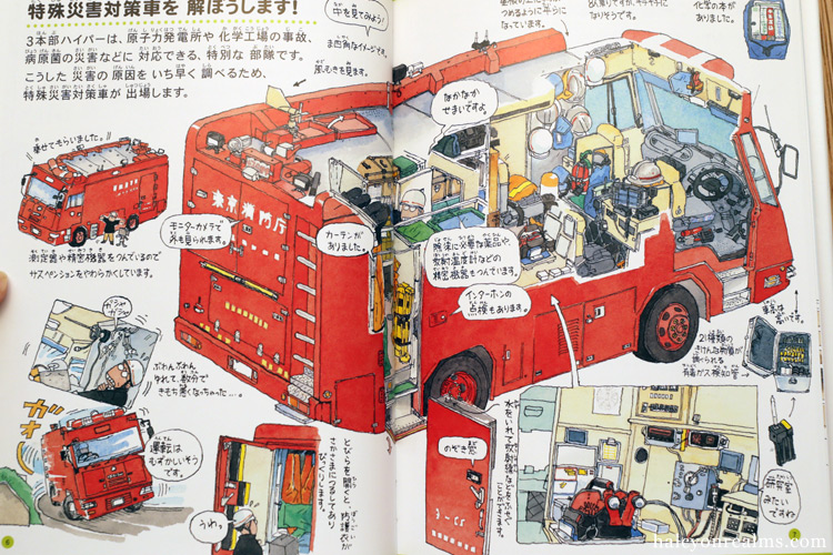 Fire Engines And Hyper Rescue – Morinaga Yo Illustration Book Review