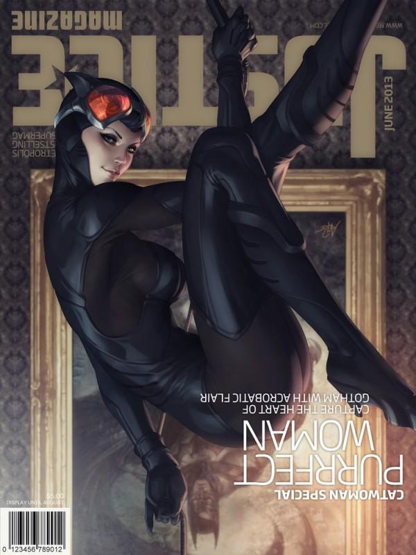 Justice Metropolis Magazine Covers - Stanley Lau
