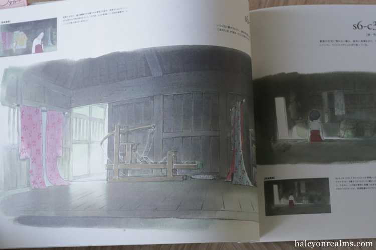 Princess Kaguya Roman Album Art Book
