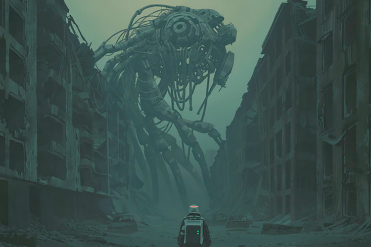 The Labyrinth – Simon Stålenhag Art Book Kickstarter
