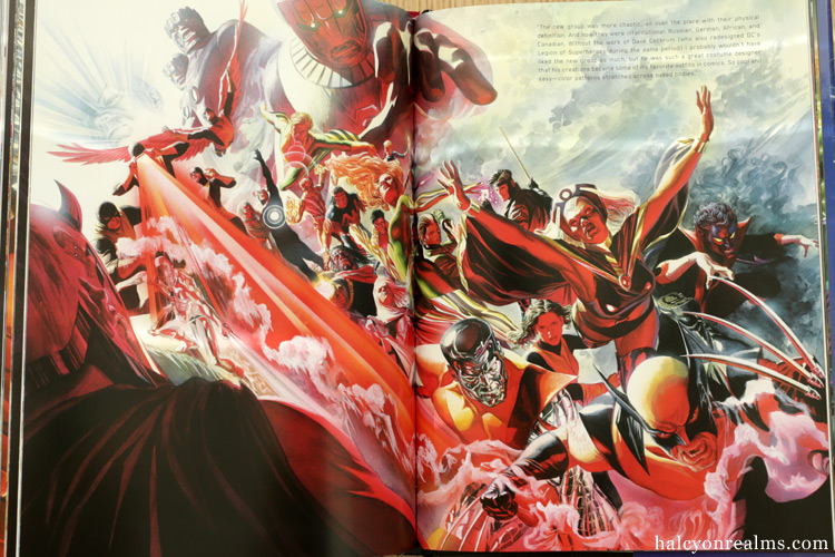 Marvelocity: The Marvel Comics Art of Alex Ross Book Review