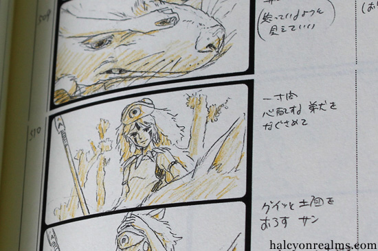 Princess Mononoke - The Storyboard Book