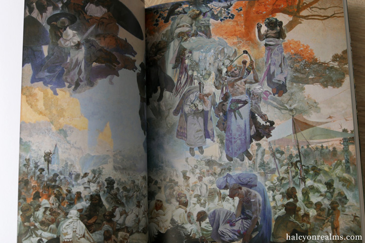 Mucha Slav Exhibition 2017 Catalogue Book Review