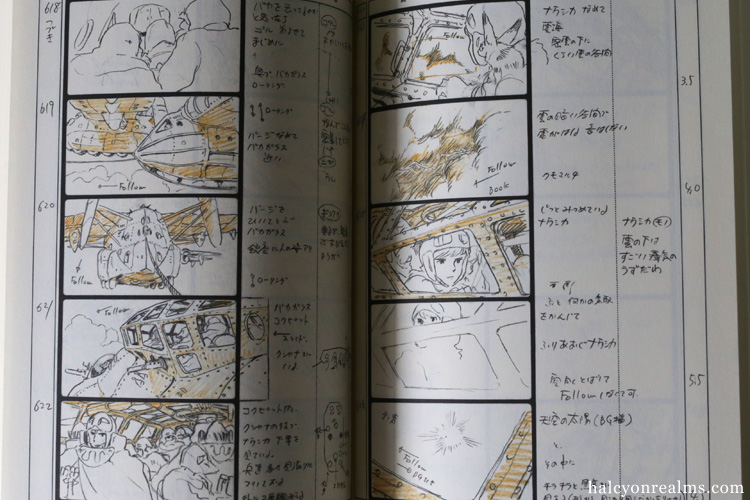 Nausicaa Storyboard Ghibli Art Book