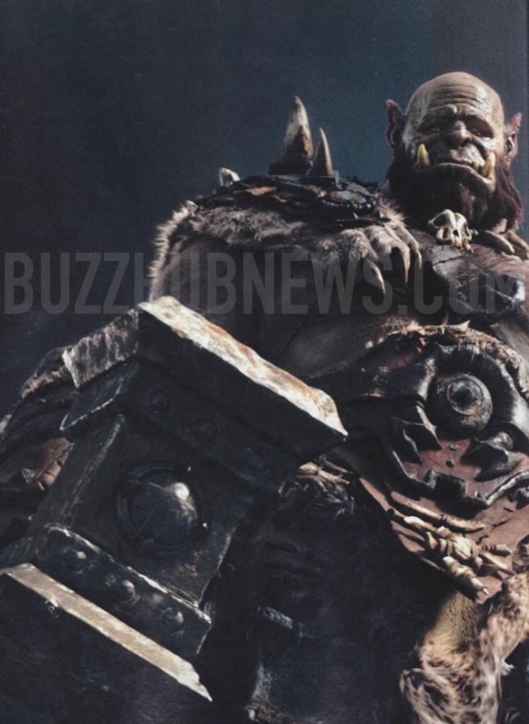 Durotan - Warcraft Film Duncan Jones ILM