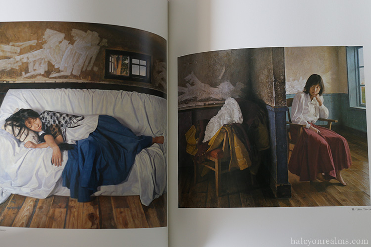 Traces - Osamu Bi Photoreal Paintings Art Book