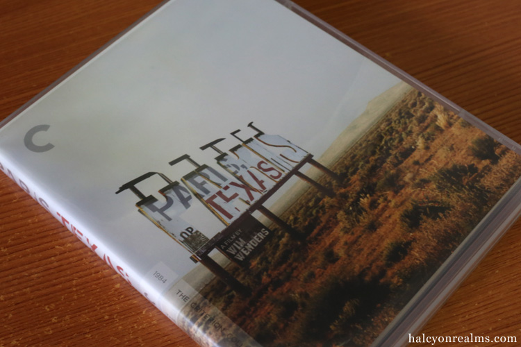 Paris Texas Criterion Blu-ray Wim Wenders