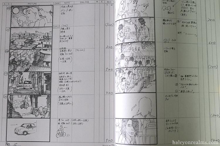 Perfect Blue Storyboard Collection Art Book Kon Satoshi
