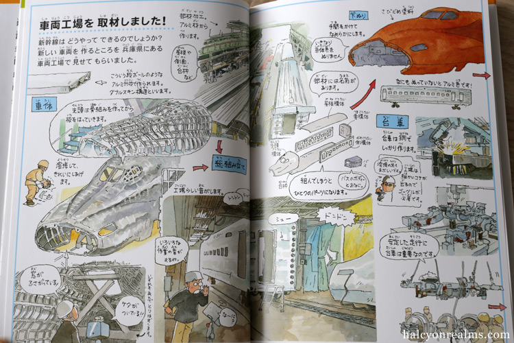 Shinkansen And Depots – Morinaga Yo Illustration Book Review