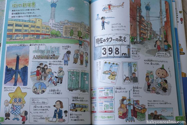 Tokyo Skytree - Morinaga Yo Illustration Book Review