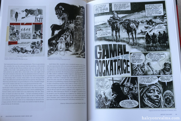 Masters Of Spanish Comic Art Book Review