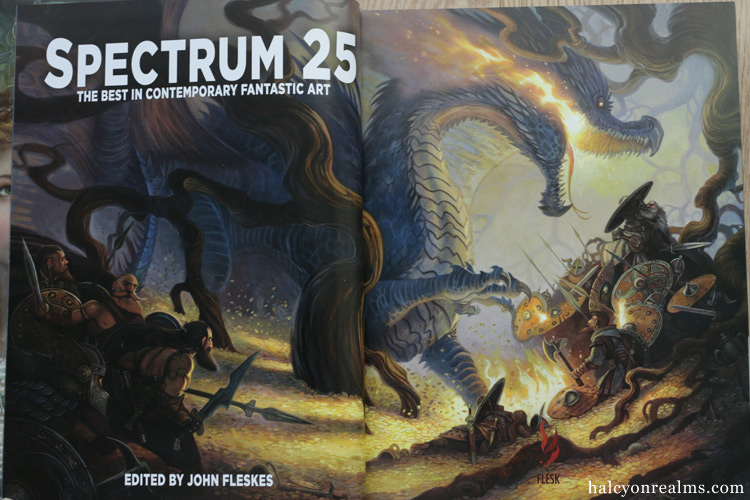 Spectrum 25 - The Best In Contemporary Fantastic Art Book Review