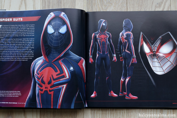 Marvel's Spider-Man : Miles Morales The Art of the Game Book Review