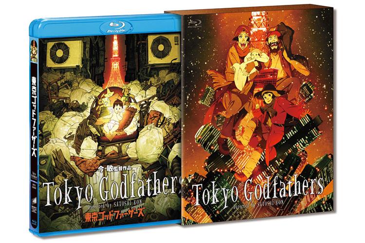 Kon Satoshi Tokyo Godfathers Blu-ray