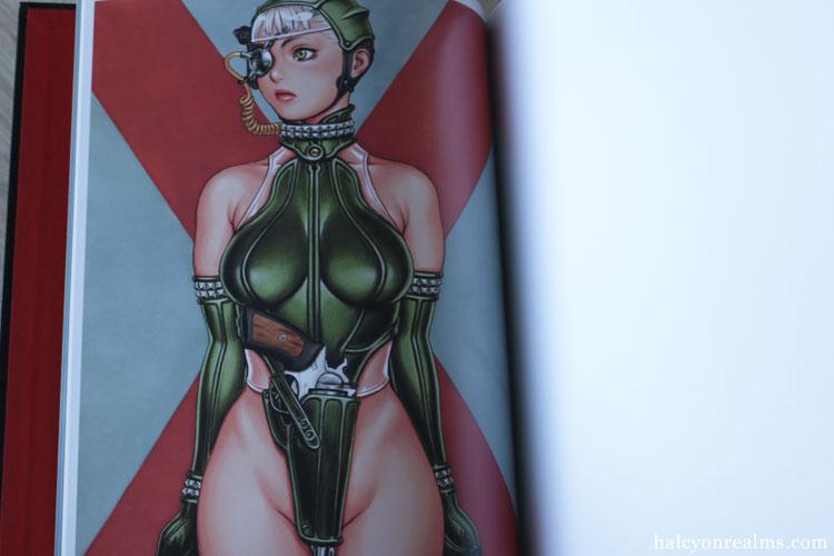 Tsukasa Bullet - Tsukasa Jun Illustration Art Book Review
