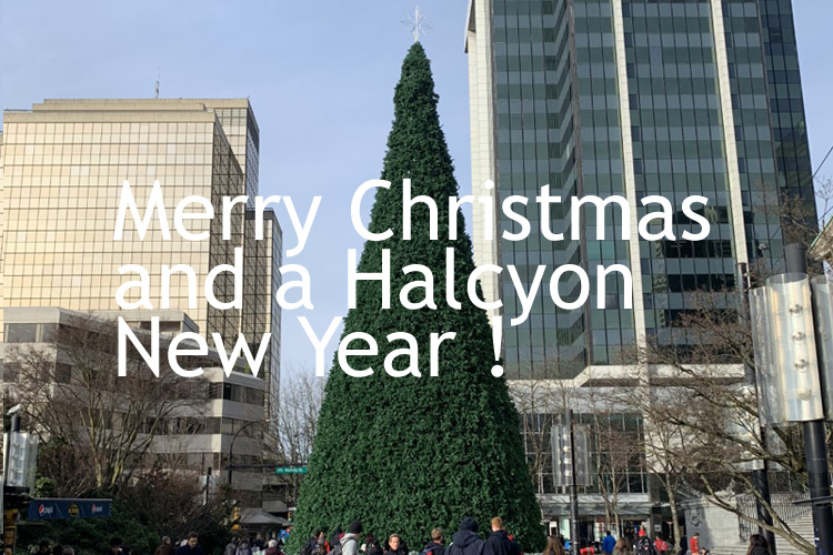 Merry Christmas, And A Halcyon New Year ! 2019