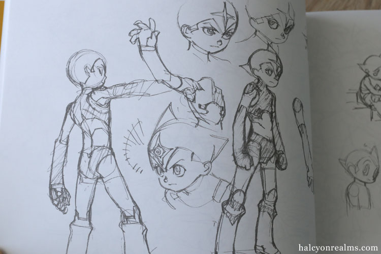 The Art Of Yoh Yoshinari Rough Sketches Scan