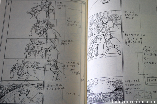 The Art Of Steamboy Part I  The Storyboards  Halcyon Realms