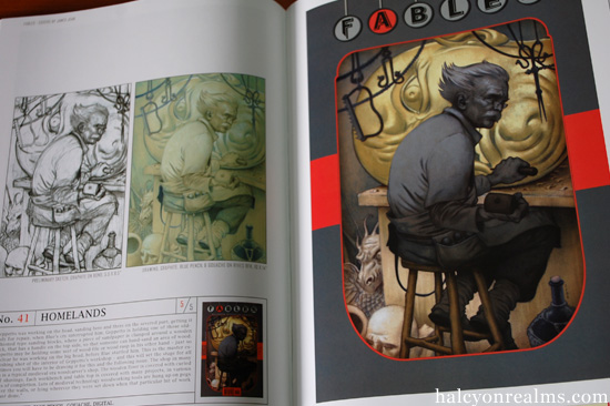 Fables : Covers By James Jean Art Book