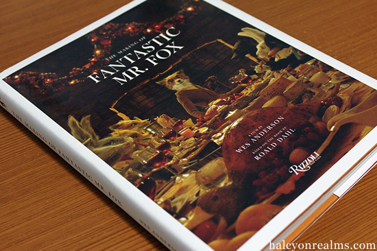 The making of fantastic mr fox art book review - Wes anderson coffee table book ...