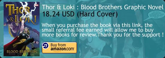 Thor & Loki : Blood Brothers Graphic Novel Esad Ribic Amazon Buy Link