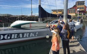 Port Townsend departure for northwest passage